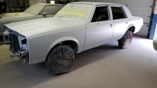 1983 4 Door cutlass bodywork pt.1