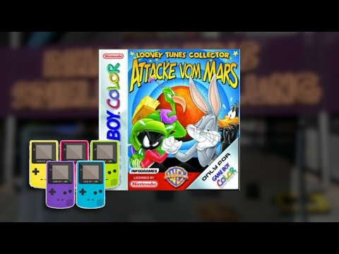 Gameplay : Looney tunes Attacke vom mars [Gameboy Color]