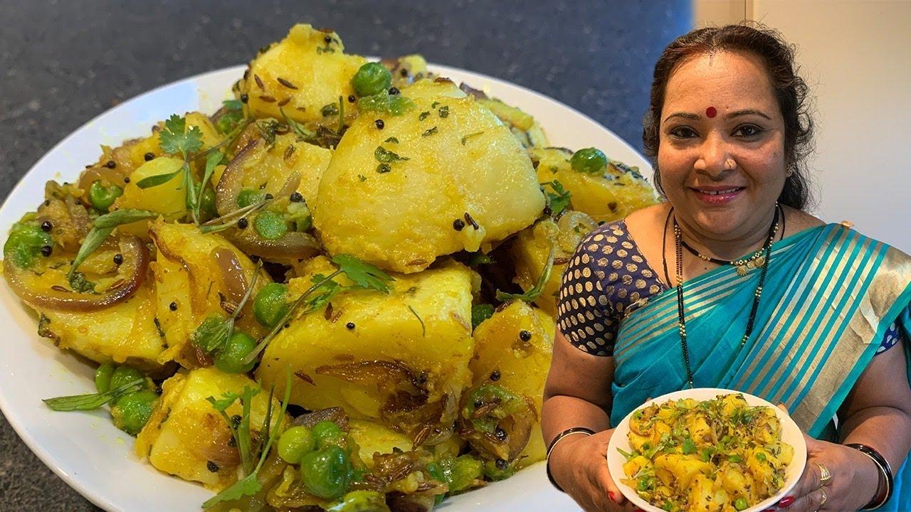 सूखे आलू की  सब्जी | Sukhe Aloo Recipe | Tasty Khana