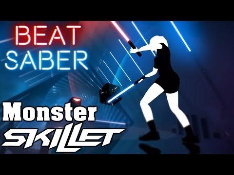 Beat Saber - Monster - Skillet (custom song)   FC