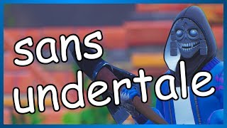 Fortnite | Sans Undertale Custom Skin