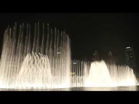 The Dubai Fountain: Mon Amour (Shiraz)