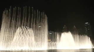 The Dubai Fountain: Mon Amour (Shiraz)