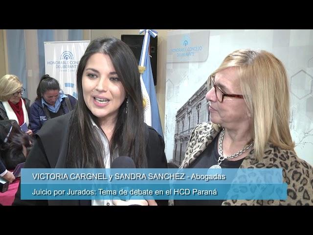 Juicio por Jurados: Tema de debate en el HCD Paraná