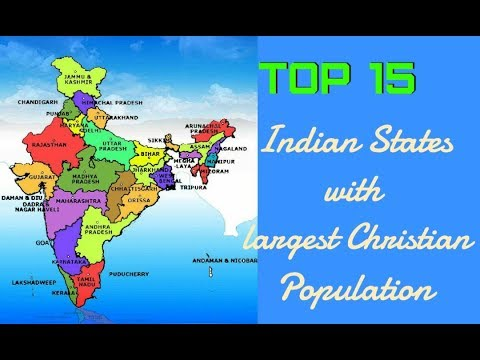 15 Indian States With Largest Christian Population