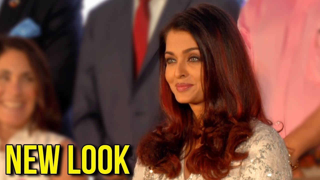 Aishwarya Rai In A Completely Diffe Look New Hair Color At Smile Train India Event