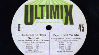 Understand this groove - Sound Factory (ultimix 45)