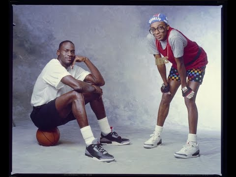 huge discount 1a9cb 008a5 Michael Jordan wearing Black Cement Air Jordan 3 (III ...