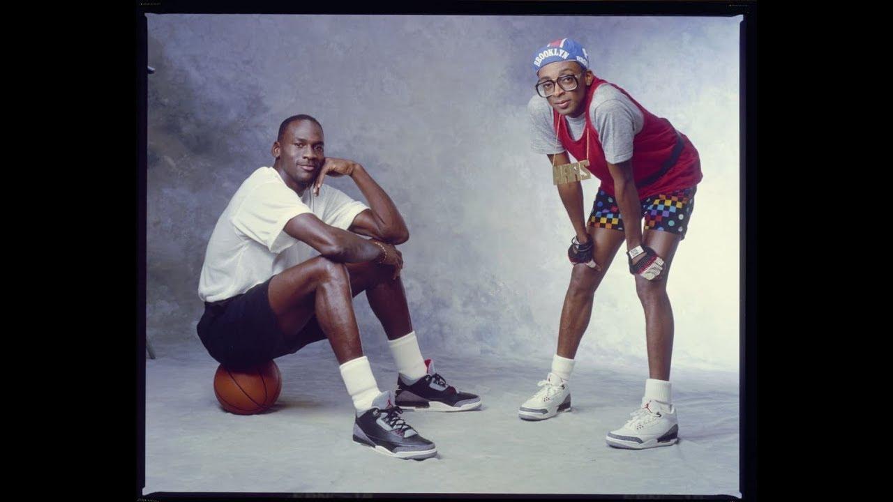sports shoes a2d58 96c91 Michael Jordan wearing Black Cement Air Jordan 3 (III) retrospective