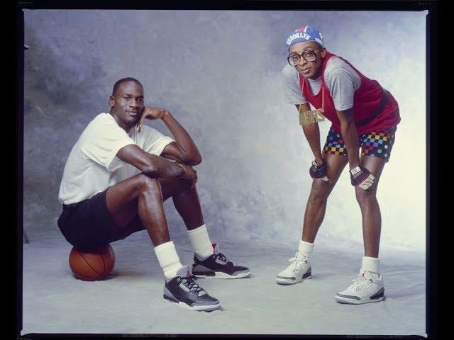 fc2dddb30b0 Michael Jordan wearing Black Cement Air Jordan 3 (III) retrospective -  YouTube