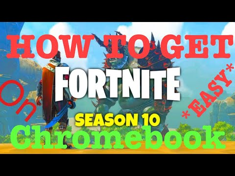 How To Get Fortnite On Any Chromebook !
