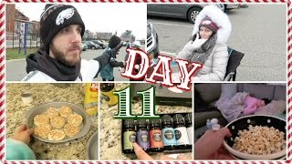 EAGLES Game & Movie Night | Vlogcember Day 11...