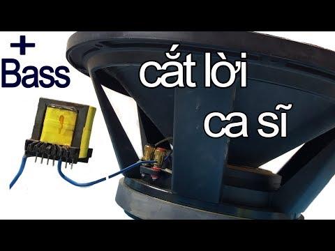 Cách Tăng Bass Cho Loa Sup Tới Mức Cắt Lời Ca Sĩ, Increase Bass Subwoofer
