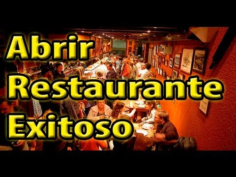 Abrir restaurante exitoso en 12 pasos youtube for Crear restaurante