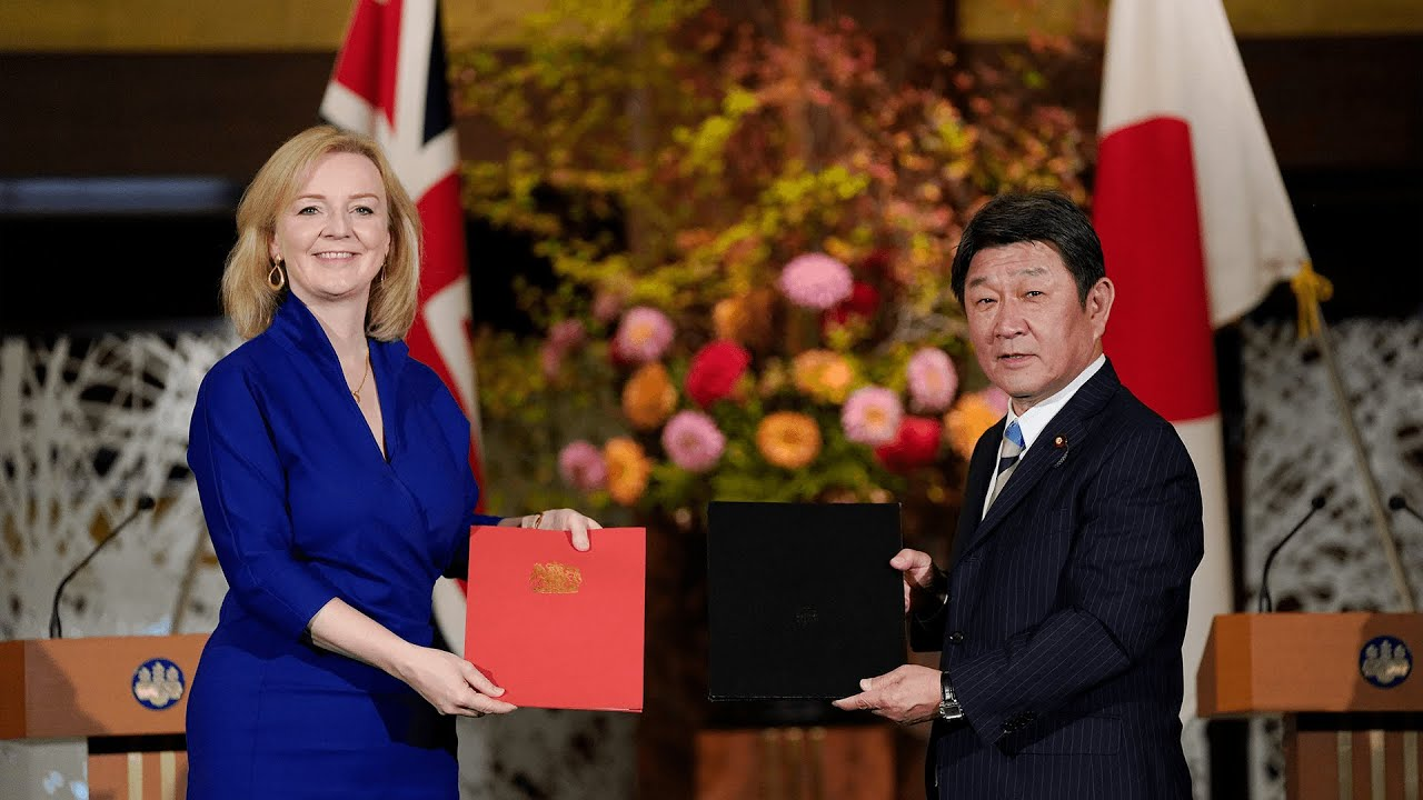 Britain signs first major post-Brexit trade deal with Japan