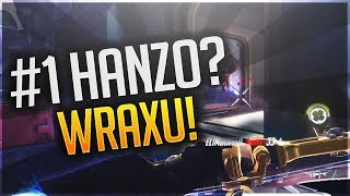 WRAXU BEST HANZO GAMEPLAY! [ OVERWATCH SEASON 19 TOP 500 ]