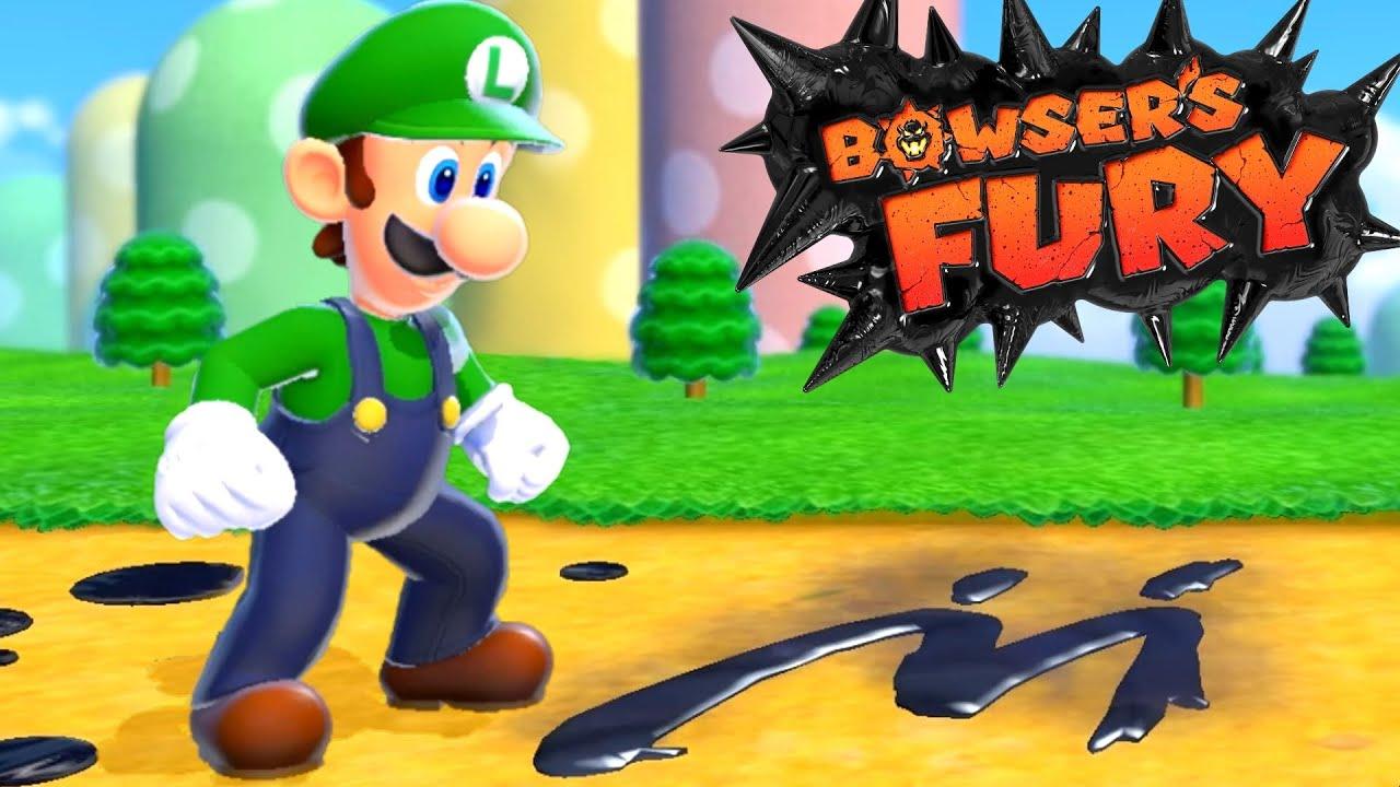 Luigi's Fury - Full Game Walkthrough (Bowser's Fury)