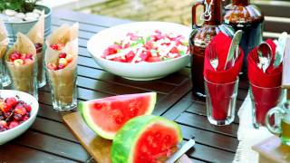 How to Creatively Decorate a Backyard Barbeque, with Anthony Albertus   Pottery Barn thumbnail