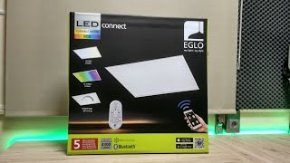 Painel led Eglo RGB/Tunable Whites - Unboxing
