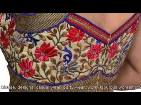 Blouse designs cutting and stitching Images Only clip9 thumbnail