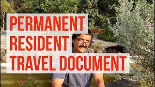 What is a PR travel document (PRTD) in Canada migration? Manoj Palwe explains.