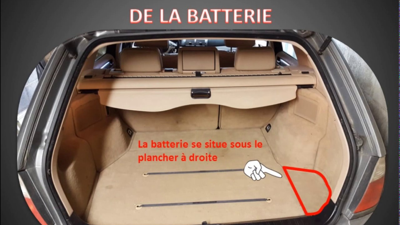 d pose de la batterie bmw serie3 e46 touring astuce hayon bloqu youtube. Black Bedroom Furniture Sets. Home Design Ideas