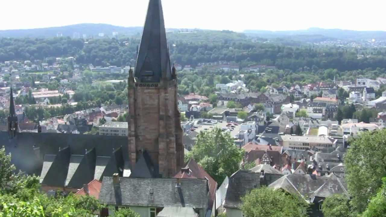 Germany Marburg Altstadt Hessen Germany