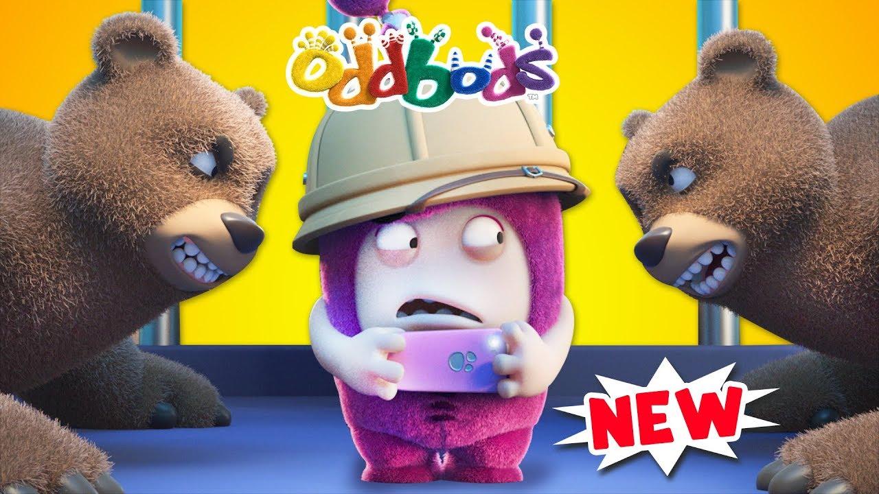 Oddbods | The Caged Photographer  | Oddbods Full Episodes Compilation