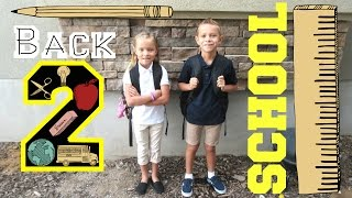 📚🏫KIDS FIRST DAY BACK TO SCHOOL📏📝 | 2ND AND 3RD GRADE | ELEMENTARY | DYCHES FAM