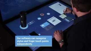 Интерактивный сенсорный стол Ideum(morpheus.in.ua Интерактивный стол, или - Dynamic Desktop, представляет собой фактически огромный РСТ сенсорный экран..., 2014-10-01T15:16:13.000Z)