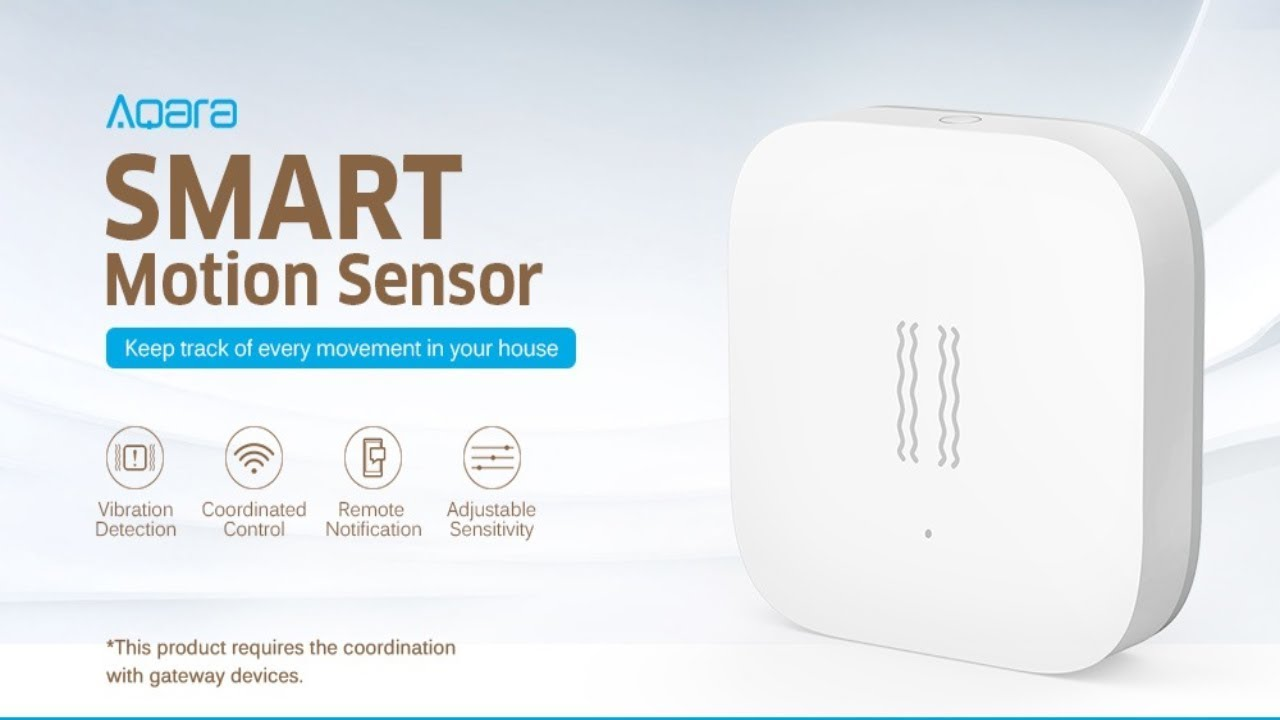 Xiaomi Aqara Zigbee Shock Sensor In Aliexpress (link in description)