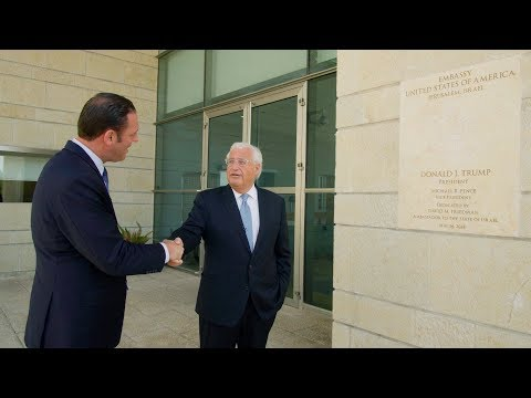 The Watchman Episode 107: Inside New US Embassy In Jerusalem With Ambassador David Friedman