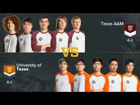 Texas A&M vs University of Texas - Game 1 Highlights ULOL CAMPUS SERIES 2016