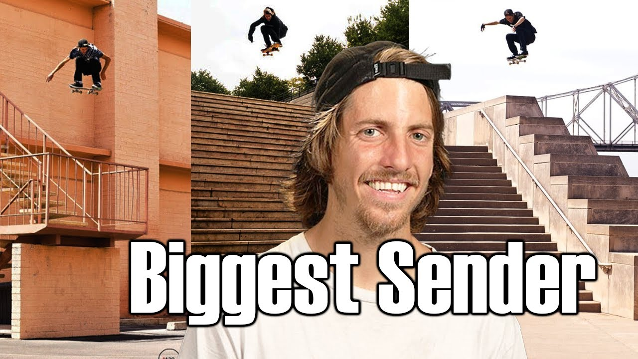 """JAWS"" The Biggest Sender in Skateboarding 