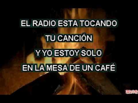 Leo Dan - El Radio Esta Tocando (karaoke)