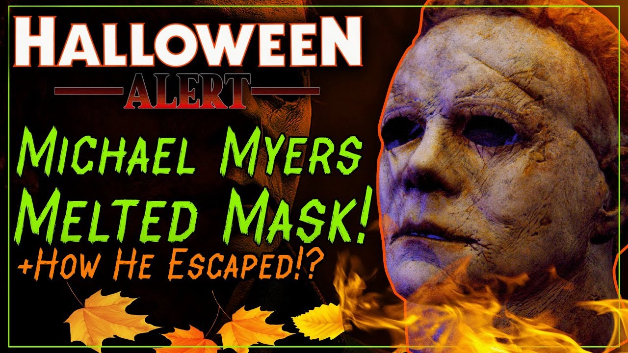 Halloween Kills MELTED Michael Myers Mask!