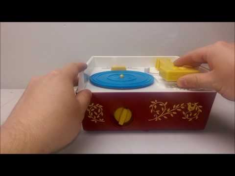 Fisher Price Classic Toy RECORD PLAYER Music Box