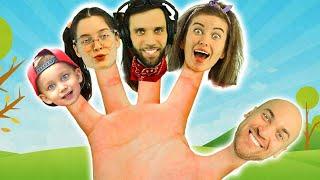 Mark and Finger Family Song  For Kids  from MarkLand