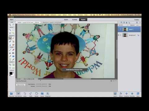 Learn Adobe Photoshop Elements 11 & 12 - Part 5: More Tools (Training Tutorial)
