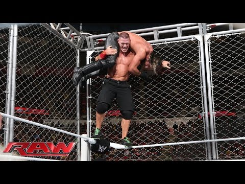 John Cena vs. Seth Rollins - Steel Cage Match: Raw, December 15, 2014