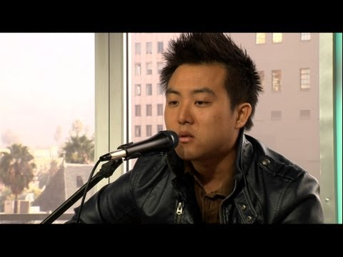 "David Choi performs ""You Were My Friend"" LIVE on What's Trending"