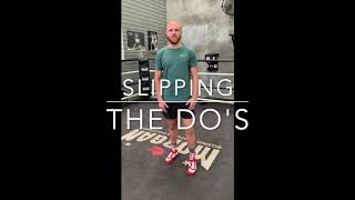 BOXING TIP - Slipping