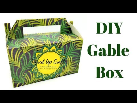 Gable Box | Lunch Box Video Tutorial | Original Design