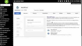1 Min Install - 350 Applications - Wordpress - Joomla - AbanteCart - OpenCart
