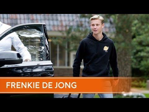 Frenkie de Jong voor de eerste keer bij het Nederlands elftal