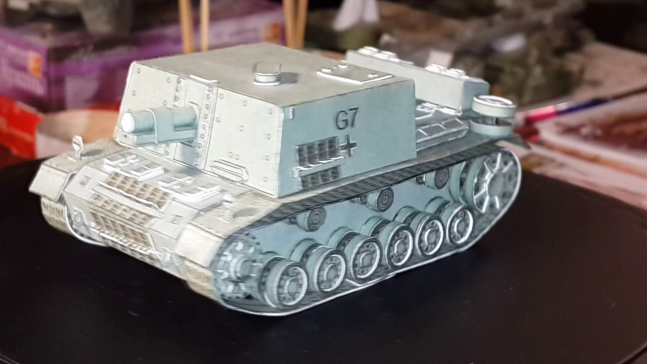 Модель танка Т-14