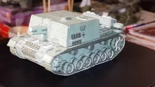 Бумажные модели танков Т-34, ИС-4, Т-14 Армата, Sturm-Infanteriegeschutz 33B