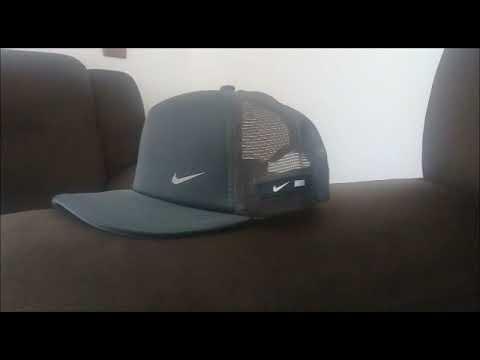 Boné Nike Trucker Promoção MERCADO LIVRE - YouTube c78c6bb3406