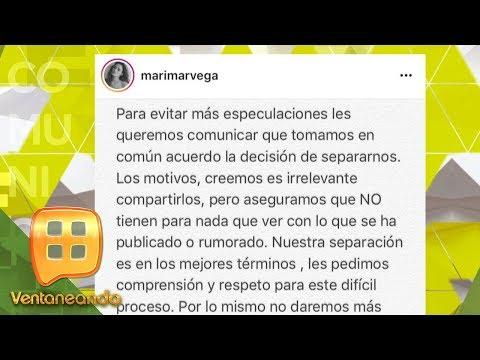 Marimar Vega confirma separación de Luis Ernesto Franco | Ventaneando