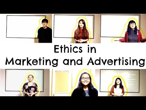 Ethics in Marketing and Advertising - Week 6 (HD)